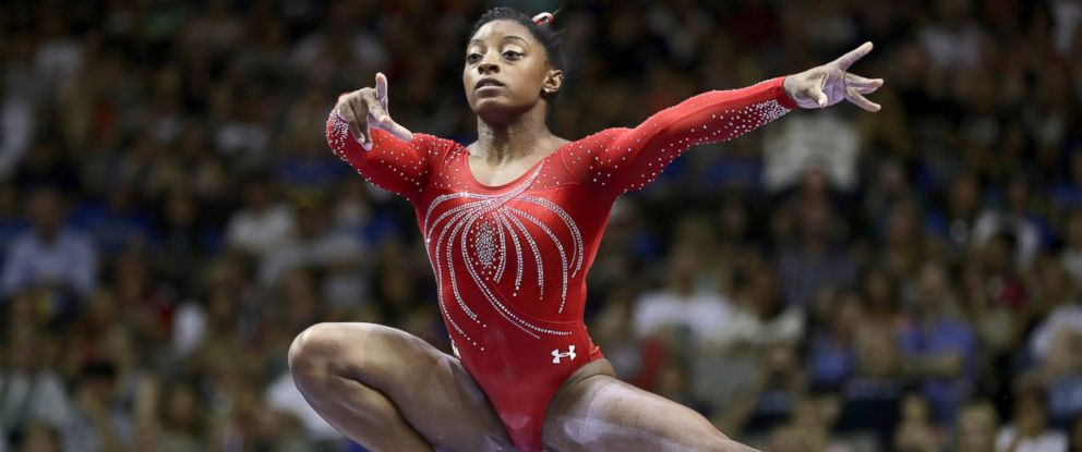 PHOTO: Simone Biles competes on the balance beam during day 2 of the 2016 U.S. Womens Gymnastics Olympic Trials at SAP Center, July 10, 2016, in San Jose, Calif.