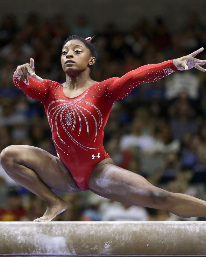 Gymnast Simone Biles Aims to Make History at 2016 Olympics - ABC News