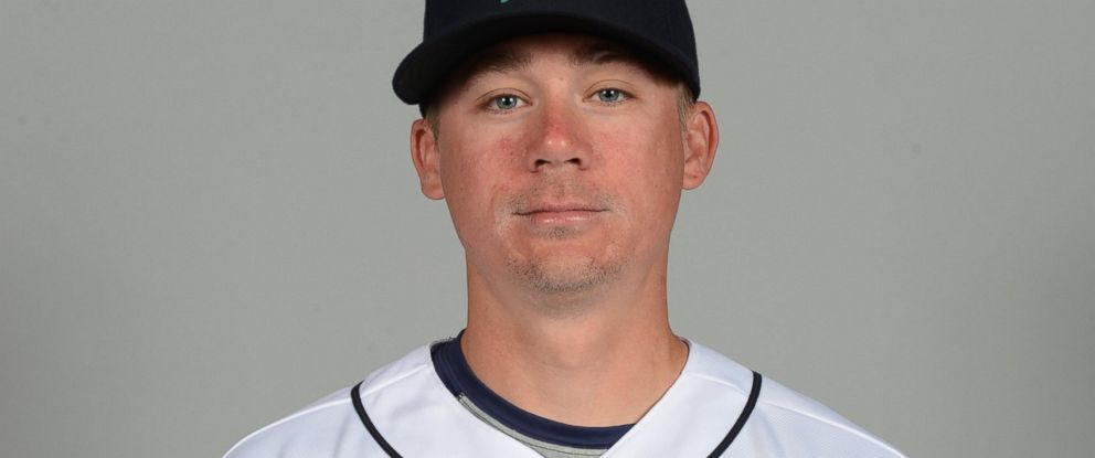 PHOTO: Steve Clevenger #32 of the Seattle Mariners poses for a portrait, Feb. 27, 2016 at Peoria Sports Complex in Peoria, Arizona.