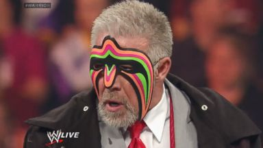 PHOTO: The Ultimate Warrior appeared on WWE, April 7, 2014.