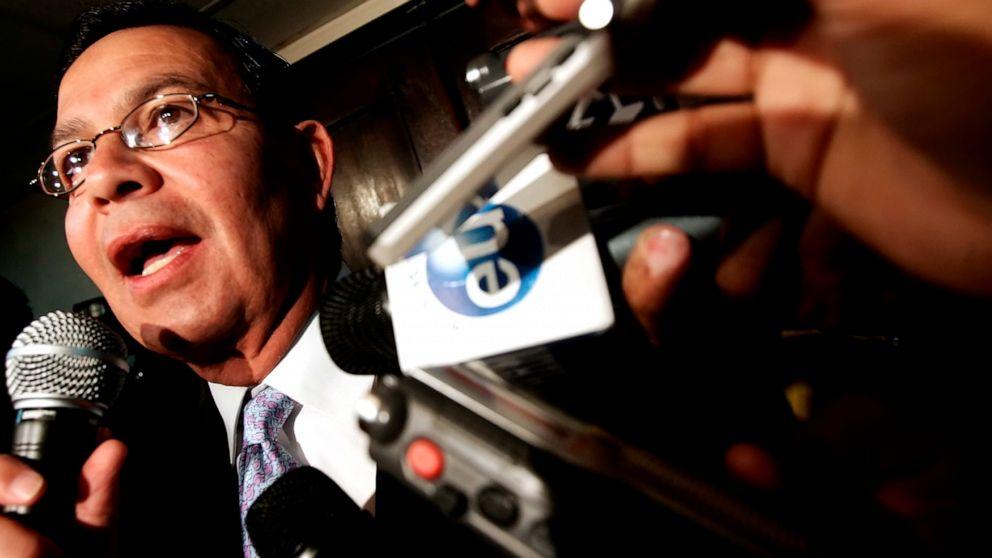 Ex-Honduras pemimpin tertangkap di FIFA skandal meninggal di AS