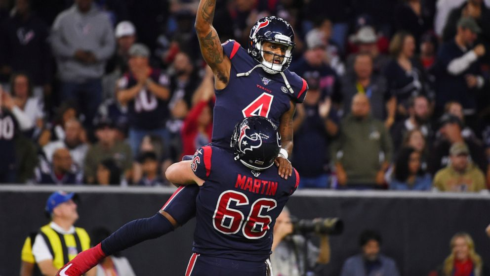 Watson Throws 3 Tds Catches Another Texans Top Pats 28 22