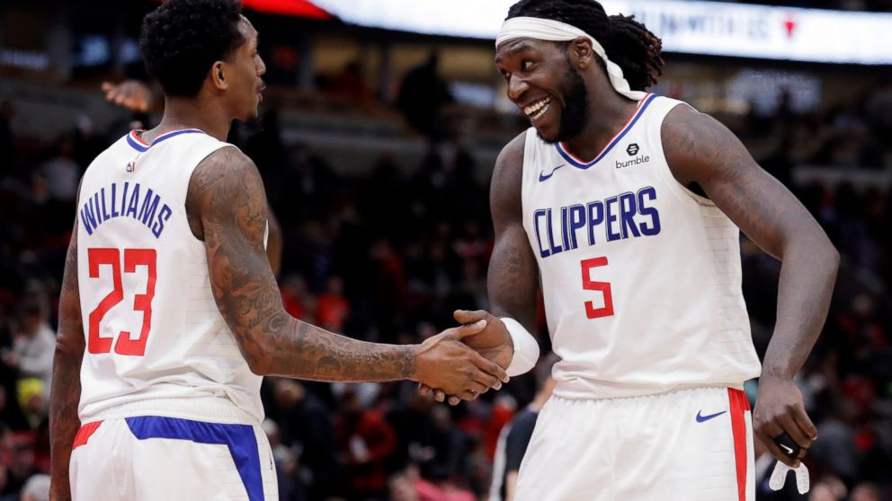 Williams  1st triple-double leads Clippers past Bulls - ABC News c6531a920