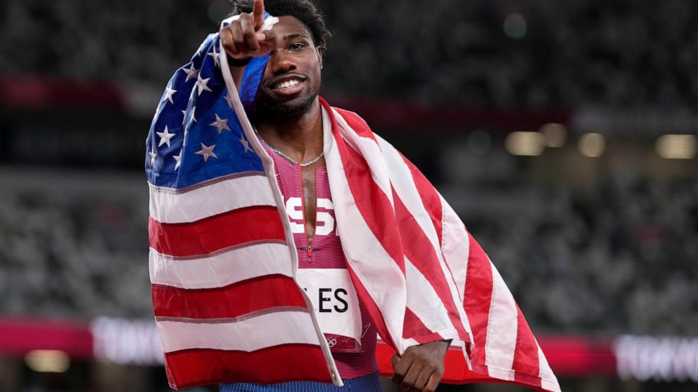 Tears from Lyles at Olympics about more than just the bronze