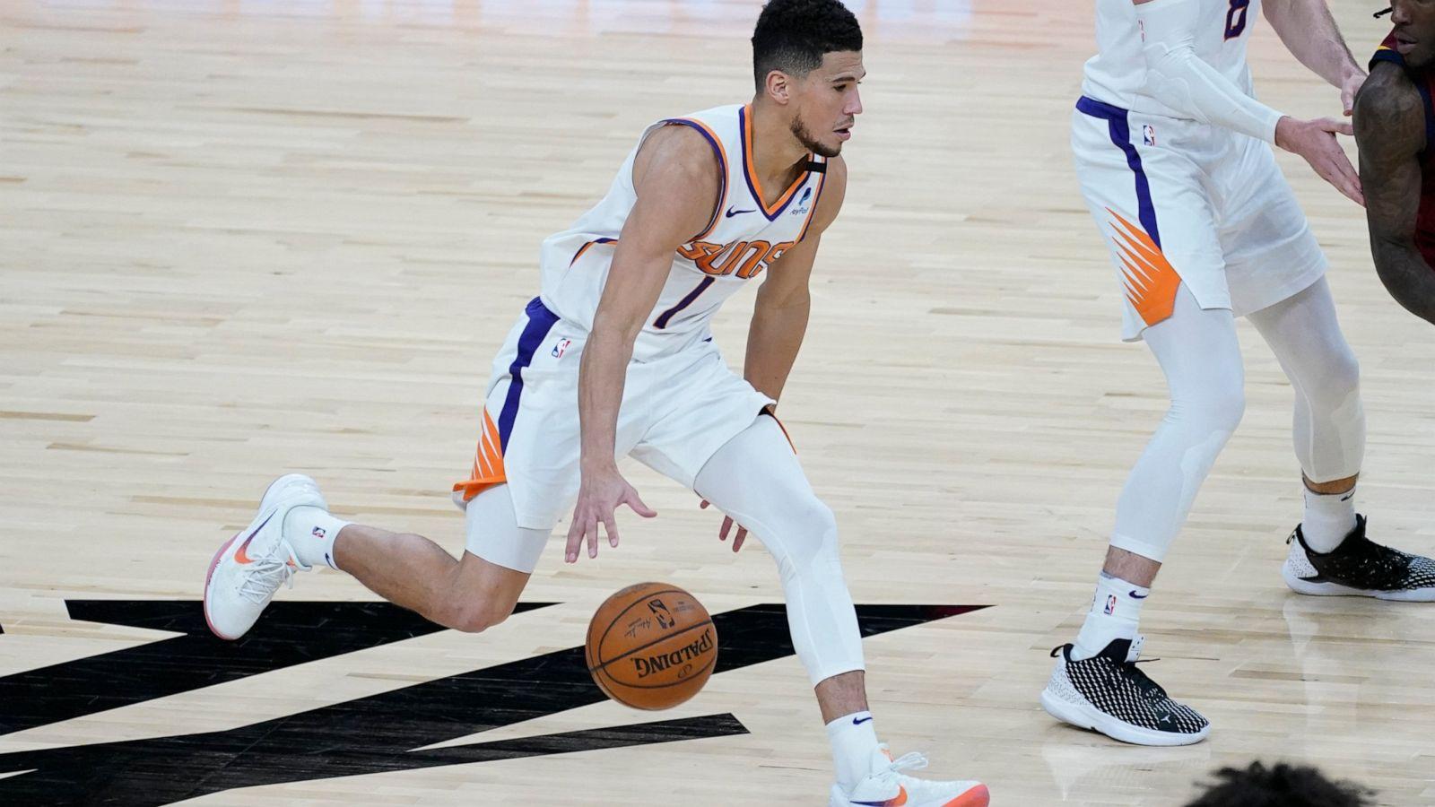 Booker scores season-high 36, Suns beat ...