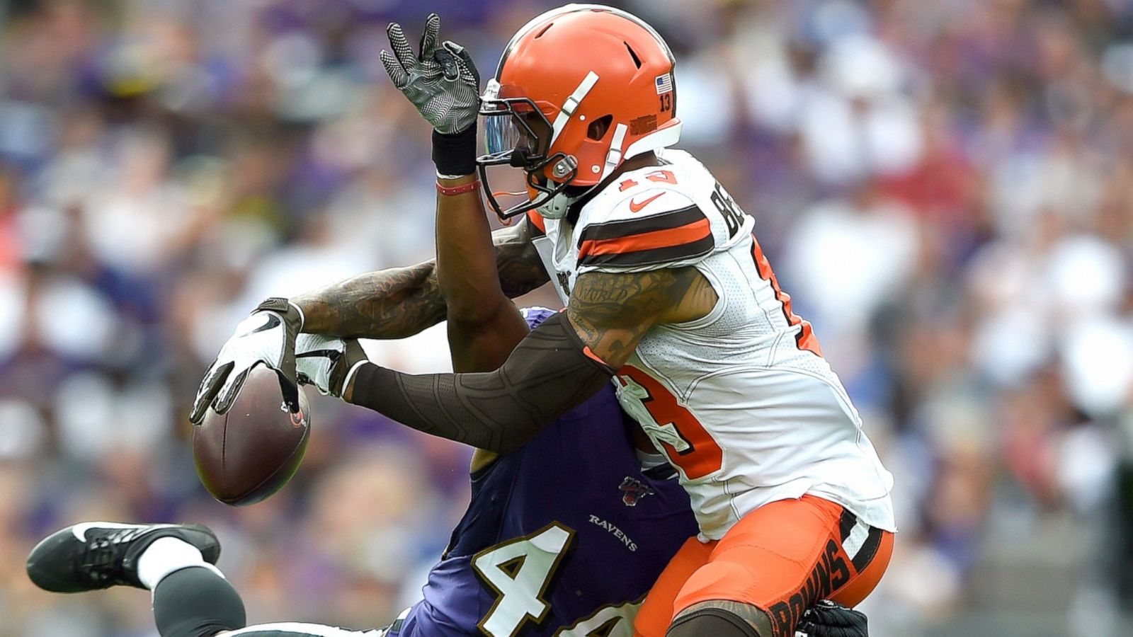 Browns Coach Choke Of Obj Doesn T Belong In Nfl Game Abc News