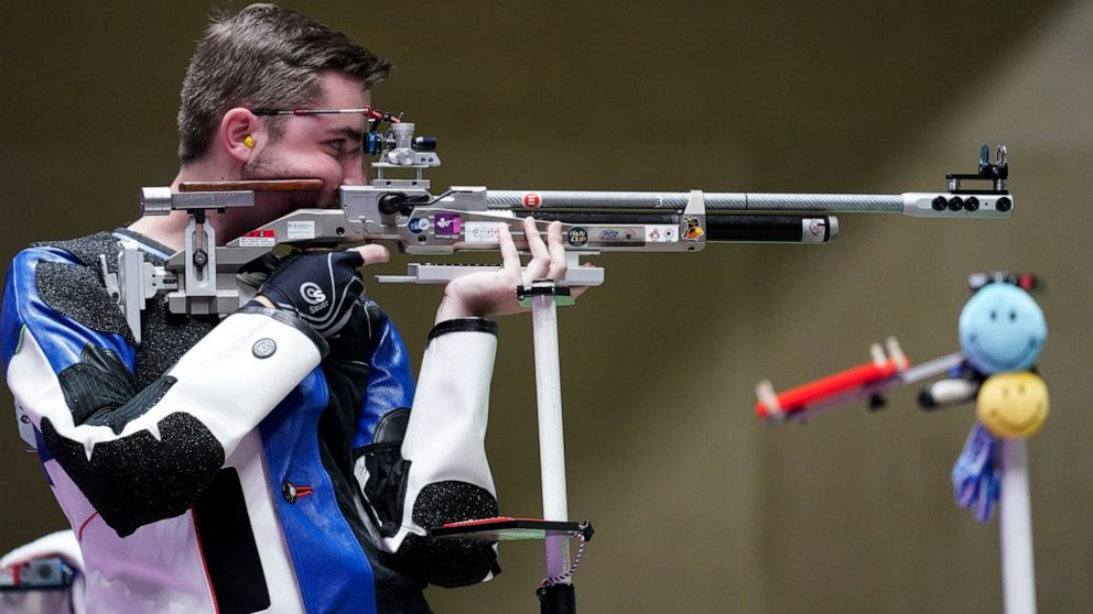 Olympic air rifles turning heads with futuristic looks