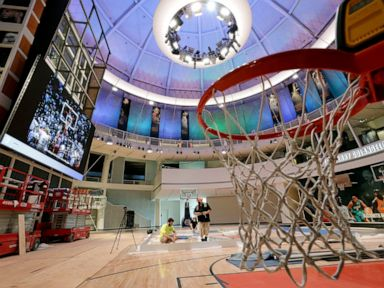 After renovation, Hoops Hall ready to show off its new look
