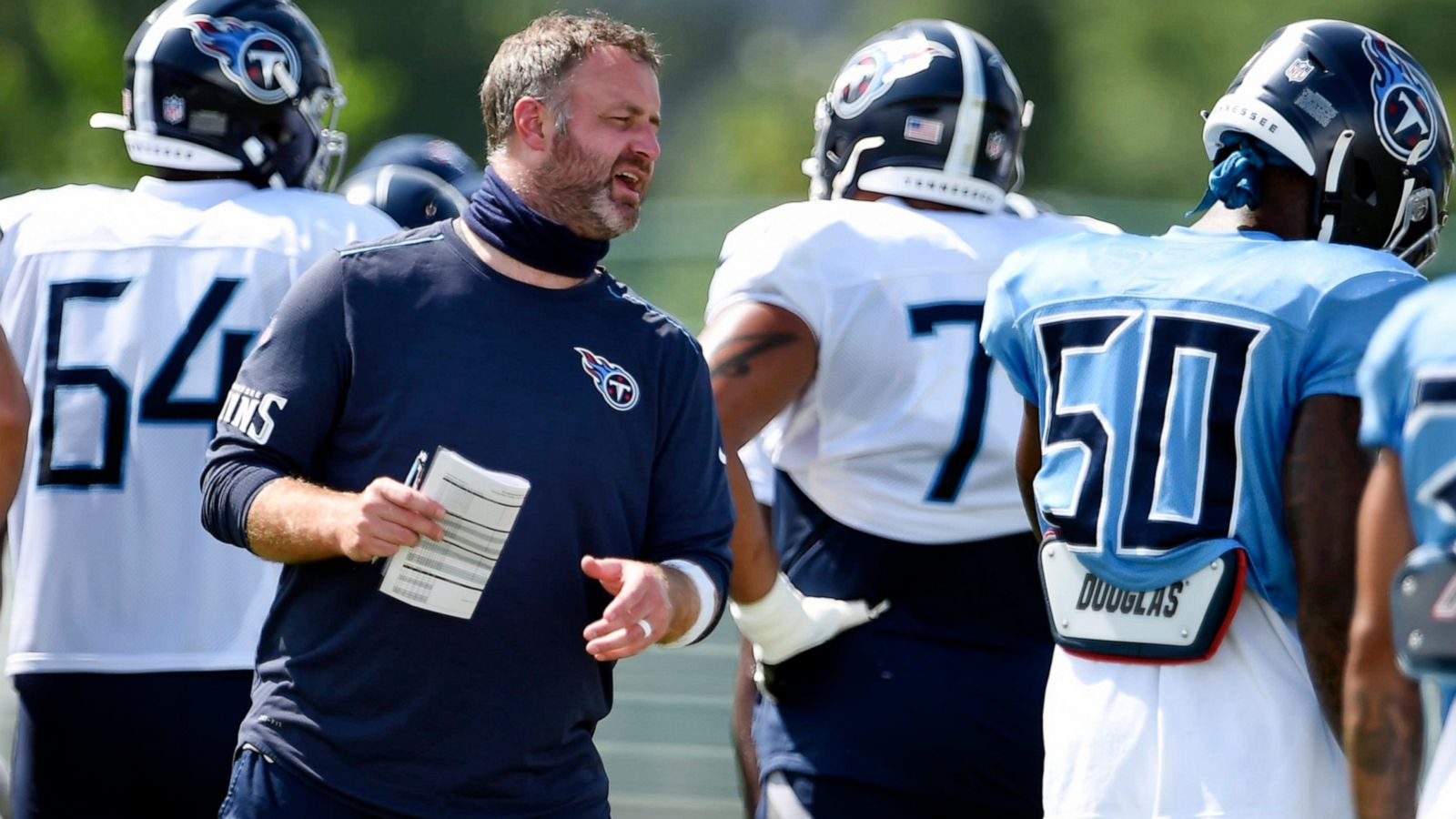 Titans Have Nfl S 1st Covid 19 Outbreak Next Game Still On Abc News