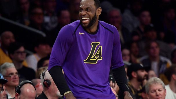 LeBron James to sit out last 6 games of Lakers' season