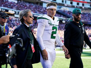 AP source: MRI confirms sprained PCL for Jets' Wilson