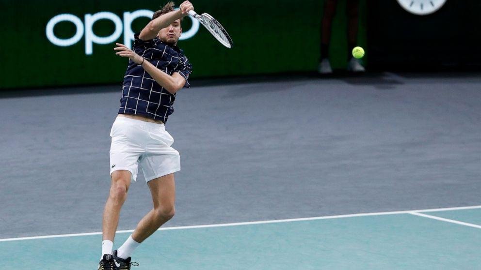 Zverev Tops Nadal Sets Up Paris Masters Final Vs Medvedev Abc News