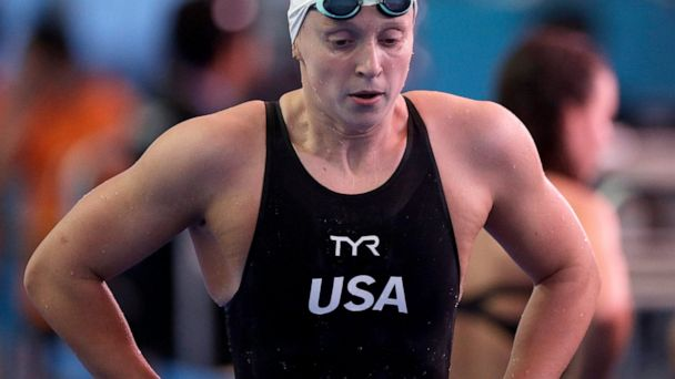 Adversity hits Katie Ledecky in way it never has before