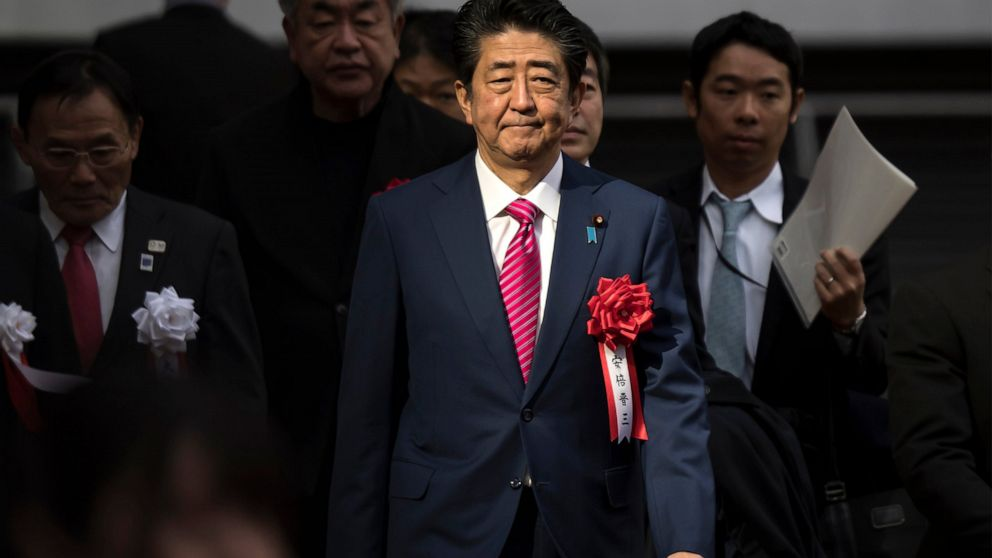 Abe brushes aside worries of virus impact on Tokyo Olympics thumbnail