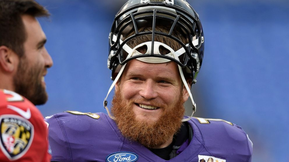 Ravens guard Yanda retires after 13 years on his own terms - ABC News
