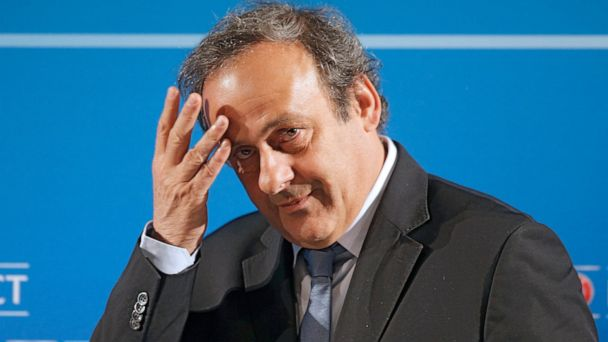 France detains soccer great Platini in 2022 World Cup probe