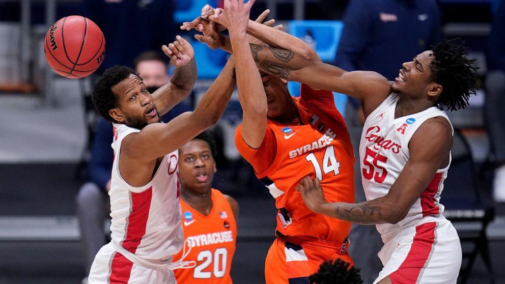 Houston locks in on defense, beats Syracuse 62-46 in NCAAs - ABC News