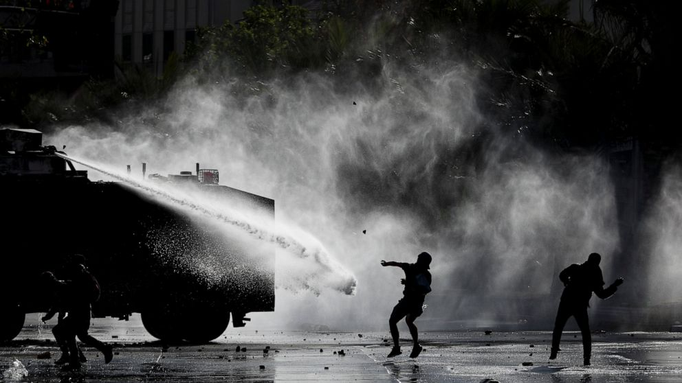 Chile's protests shrinking in size after nearly 3 weeks thumbnail