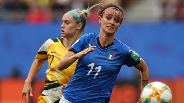 Italy's female soccer players aim to change law limiting pay