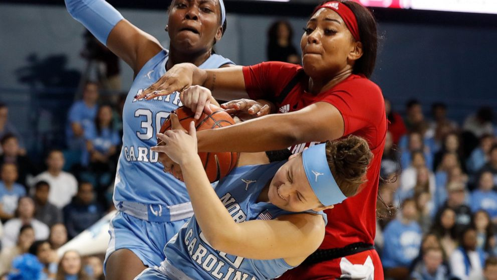 Bennett Tar Heels Hand No 9 Wolfpack First Loss 66 60