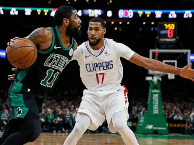 Clippers rally from 28 down, beat Celtics 123-112