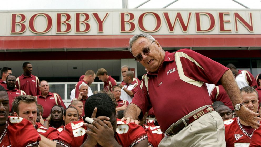 Hall of Fame football coach Bobby Bowden has died at 91 years old