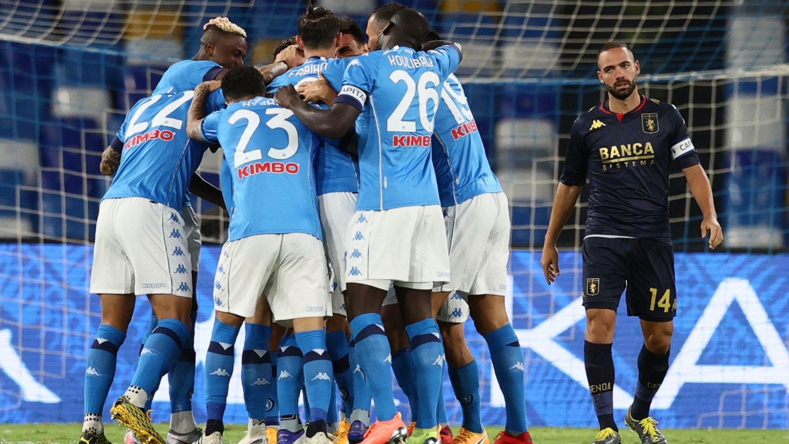 The Latest Napoli Not Traveling To Turin For Juventus Game Abc News