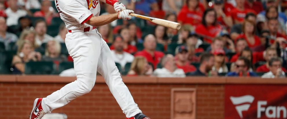 Goldschmidt hits 7th homer in 8 games, Cards beat Cubs 2-1 - ABC News