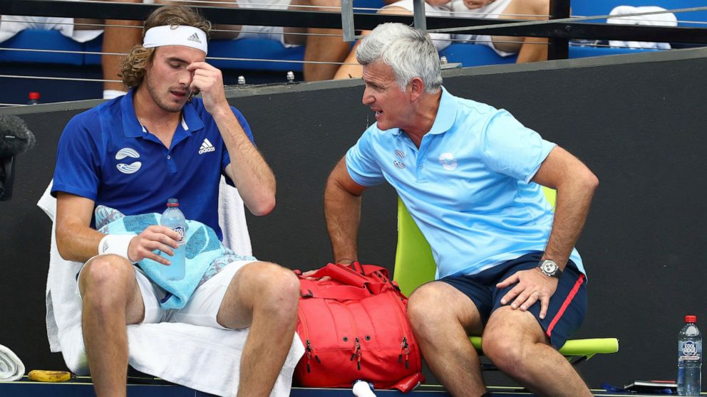 Kyrgios Serves Up Funds For Australia At Debut Of Atp Cup Abc News