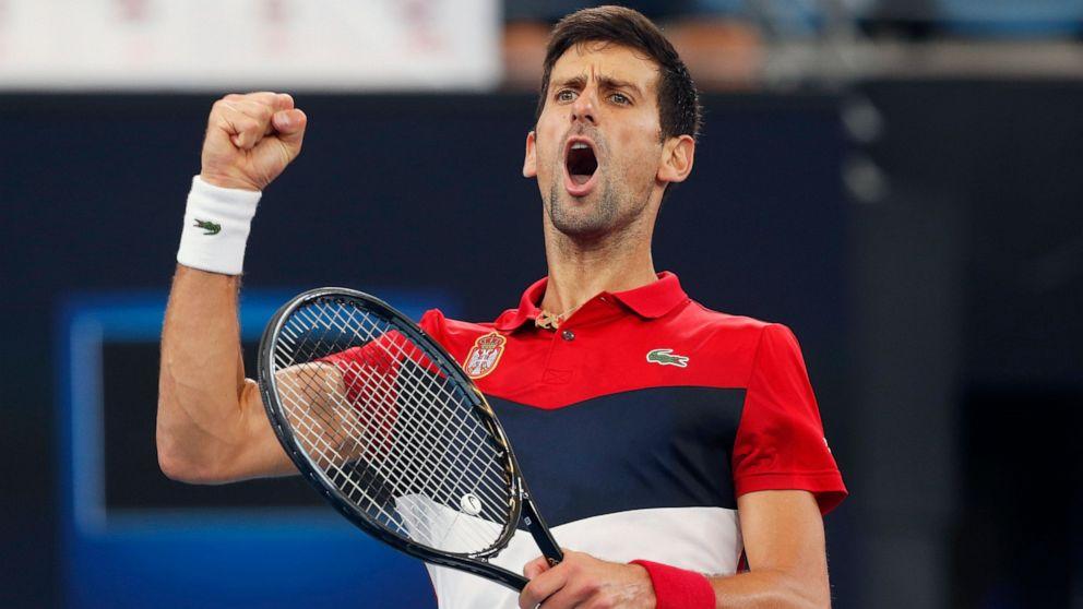 Nadal Leads Spain Into Atp Cup Final Vs Djokovic S Serbia Abc News