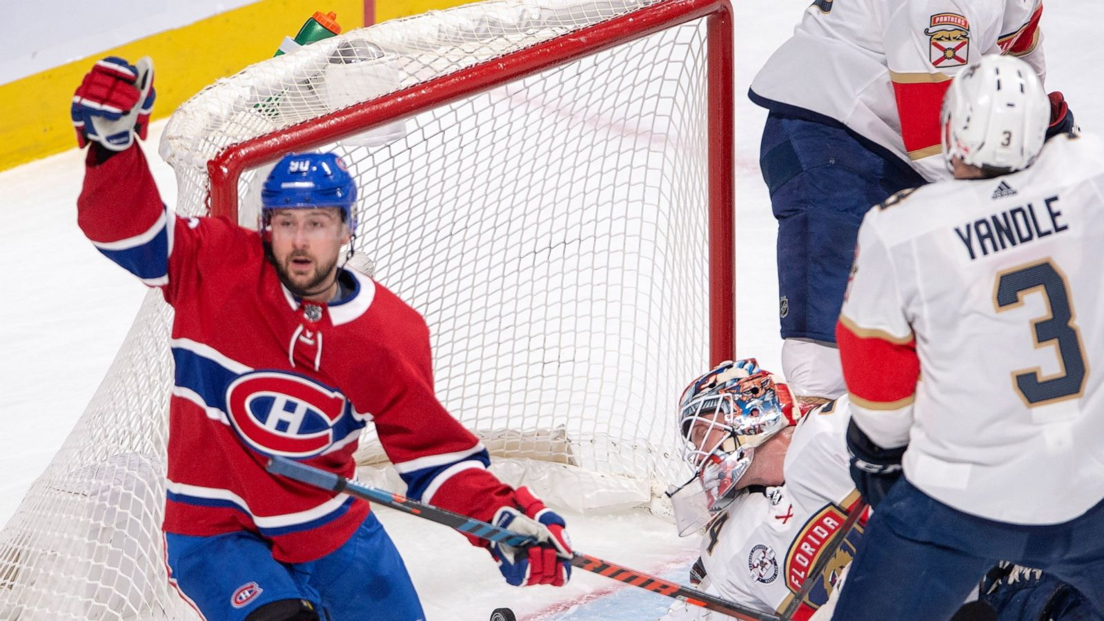 Tomas Tatar Lifts Canadiens Past Panthers 6 1 Abc News