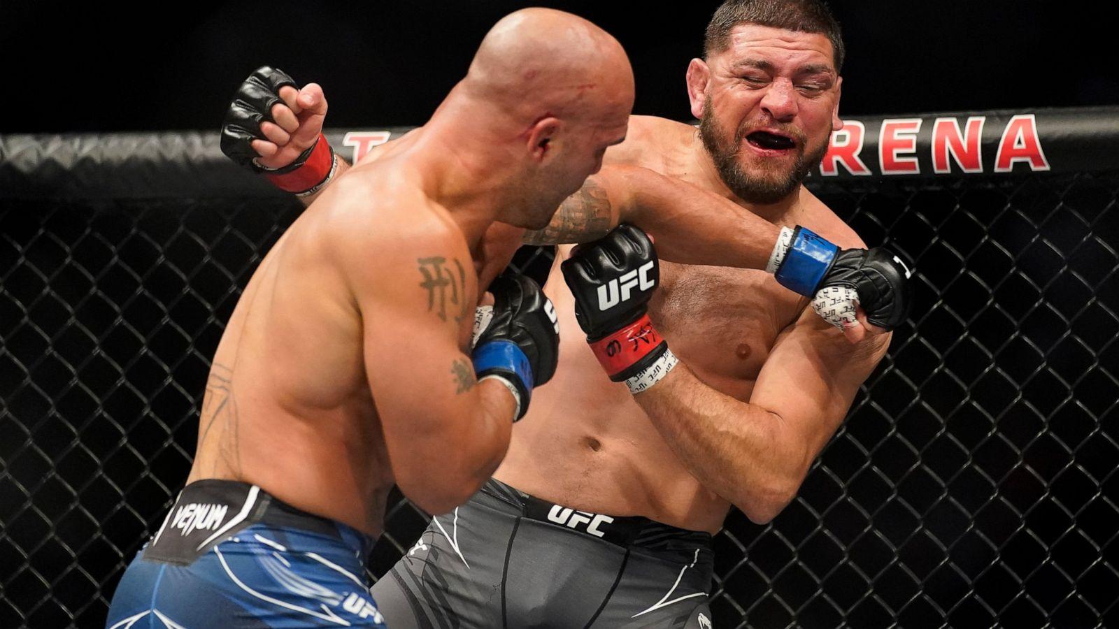 Volkanovski, Shevchenko defend at UFC 266; Lawler stops Diaz - ABC News
