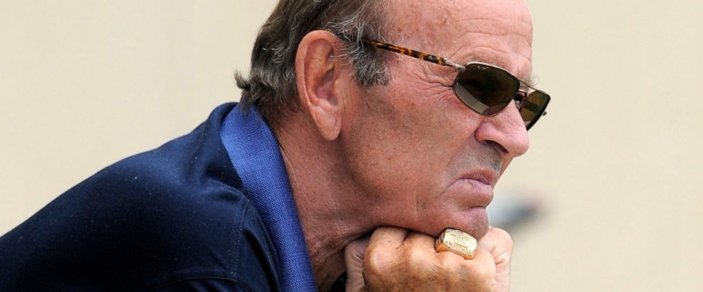 FILE - In this July 29, 2011, file photo, Denver Broncos NFL football team owner Pat Bowlen looks on during training camp in Englewood, Colo. Pat Bowlen, who transformed the team from also-rans into NFL champions and helped the league usher in billio