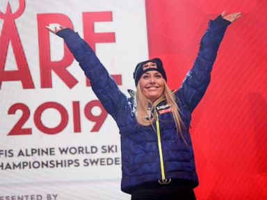 Column: A perfect day and a perfect goodbye for Vonn