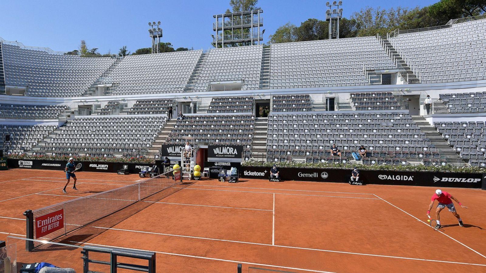 Djokovic Behaves Better In 1st Match Since Us Open Default Abc News