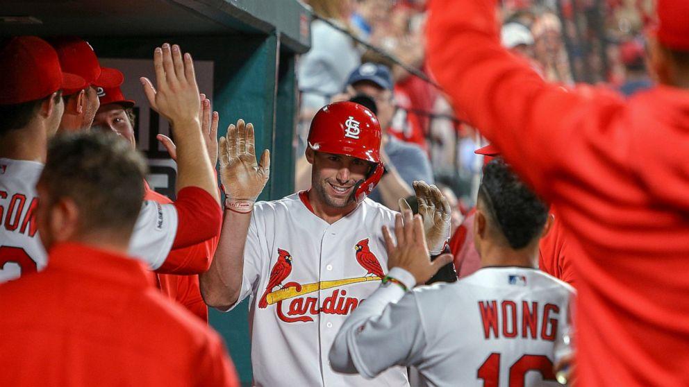 Molina, Goldschmidt power Cardinals past Dodgers 4-0 - ABC ...