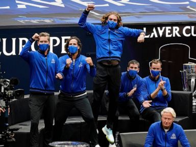 Berrettini, Ruud give Team Europe early lead at Laver Cup