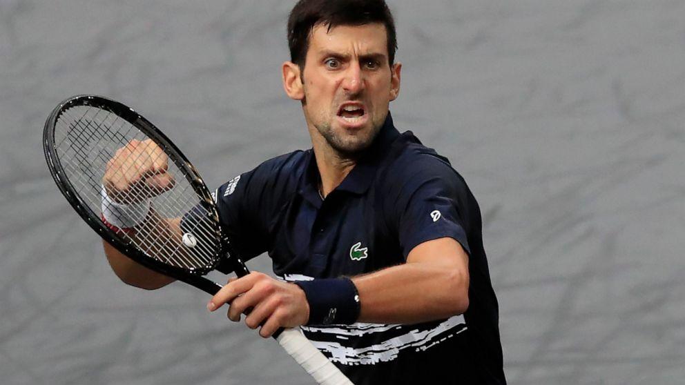 Injury Blights Nadal At Paris Masters Djokovic Into Final Abc News