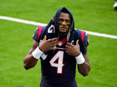 Nike suspends sponsorship of Deshaun Watson amid allegations