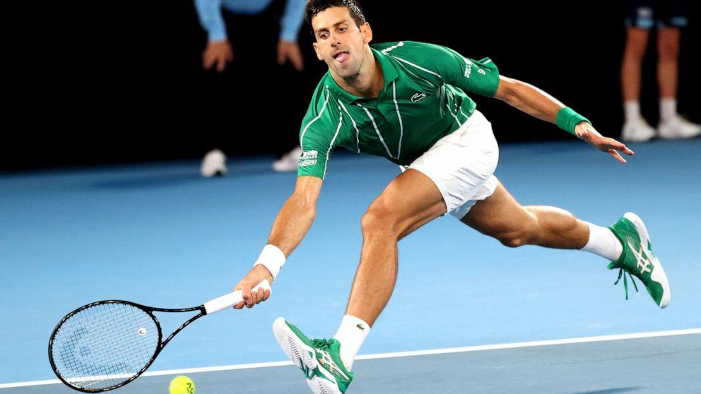 Djokovic Cedes Australian Open Set In 1st Rd 1st Since 2006 Abc News