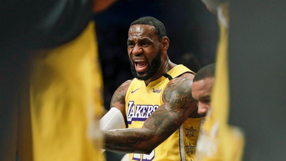 利用主場優勢?名嘴:沒有鎂粉是籃網故意的,詹姆斯下次應該自備!-黑特籃球-NBA新聞影音圖片分享社區
