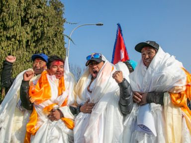 Nepal team that scaled K2 receive hero's welcome back home