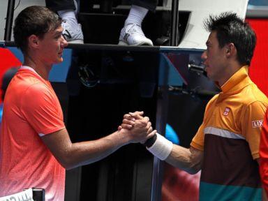Australian Open: Serena, Novak, Nishikori highlight Day 4   ABC News