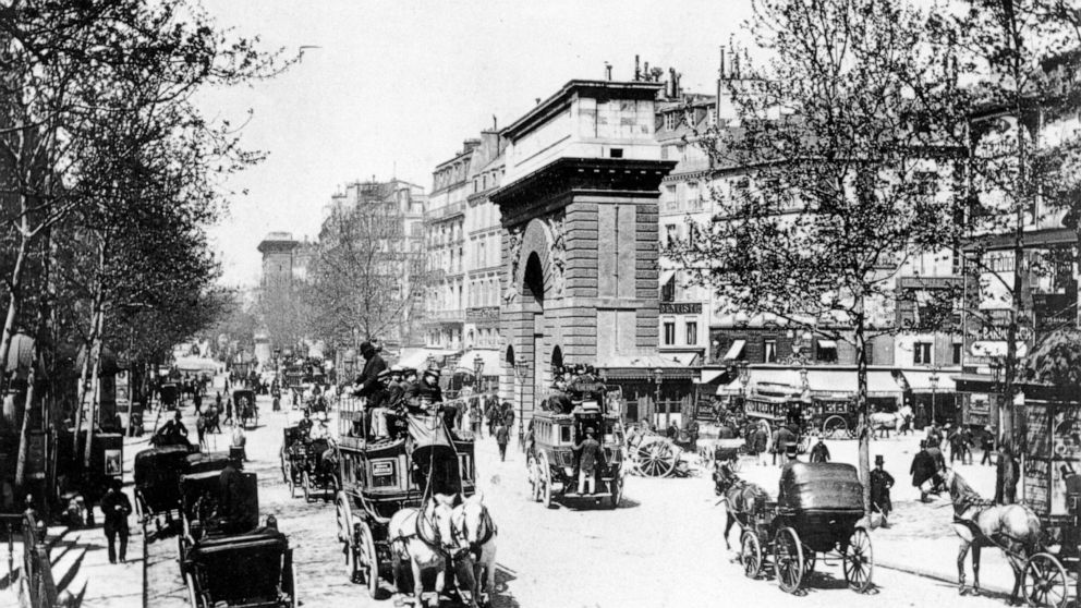 AP WAS THERE: 1900 Paris Olympics - ABC News