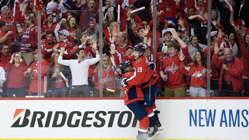 Capitals Rout Hurricanes 6 0 To Take 3 2 Series Lead Abc News
