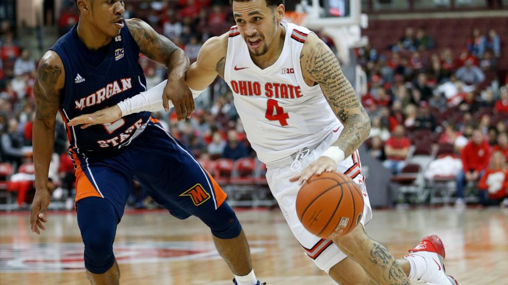 Wesson S Perfection Leads Ohio State Over Morgan State 90 57