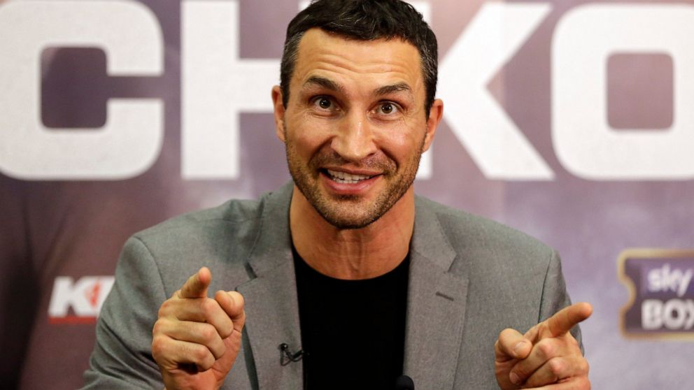 Wladimir Klitschko rescued at sea after yacht fire off Spain