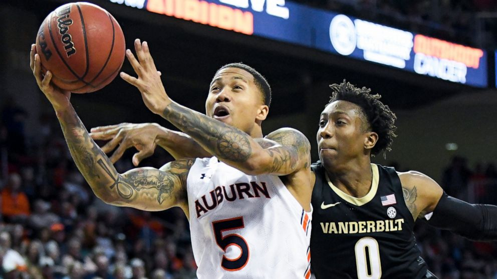 No 5 Auburn Faces Georgia S Edwards In Notable Sec Matchup