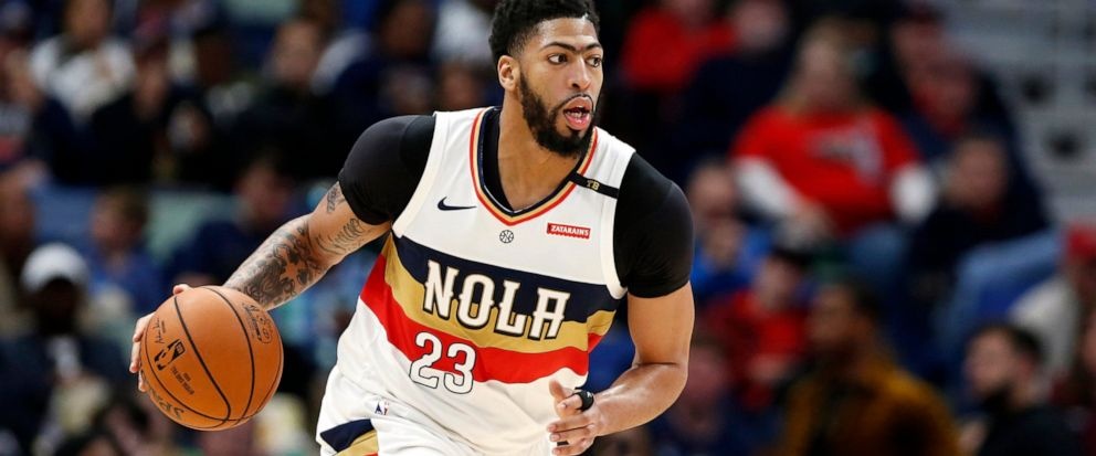 de159255f80 FILE - In this March 16, 2019, file photo, New Orleans Pelicans forward