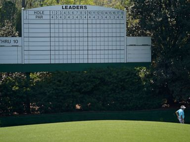 Green jackets fight back: Masters course 'where we want it.'